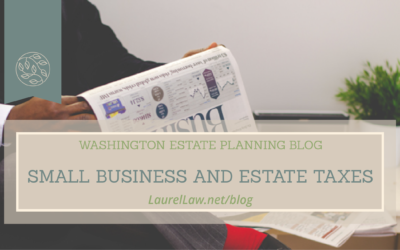 Small Business and Estate Taxes